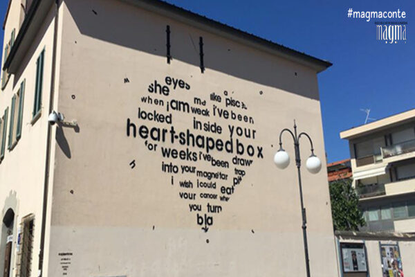 Murales, Opiemme, Follonica, Heart Shaped Box